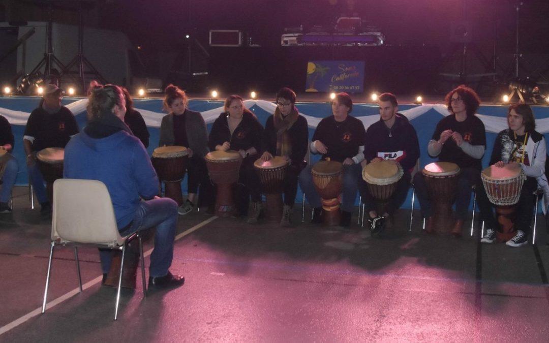 Concert Gaethys Percussions  pour l'Association Amitié Franco Béninoise