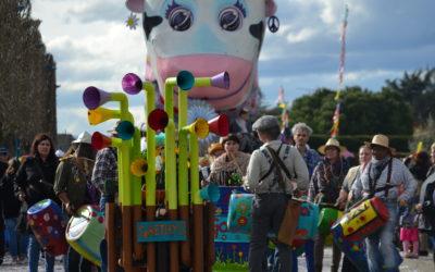 Batoukabidon pour le carnaval de  Saint Pierre de Chandieu  le 10/03/2019