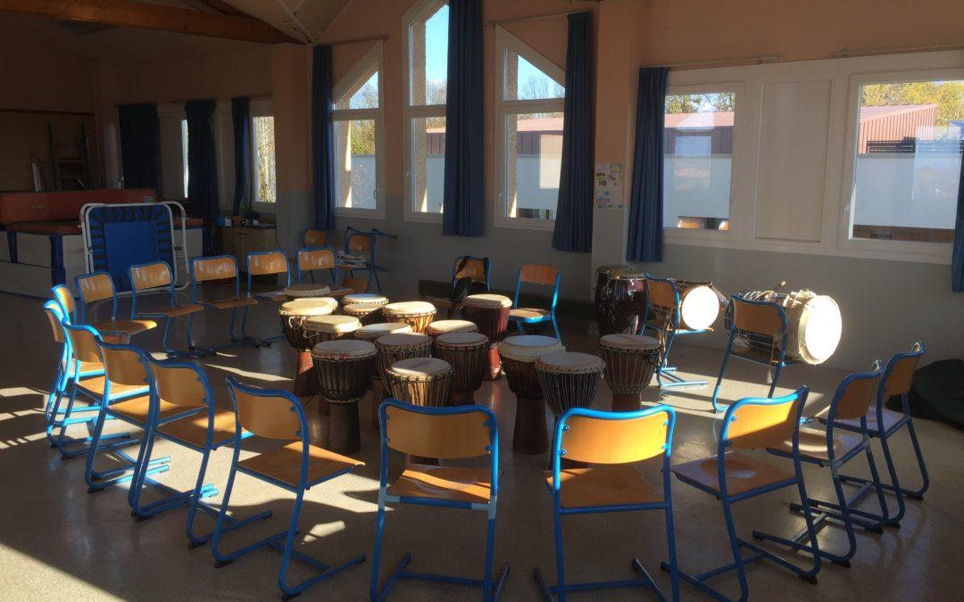 Stage école de Valencin